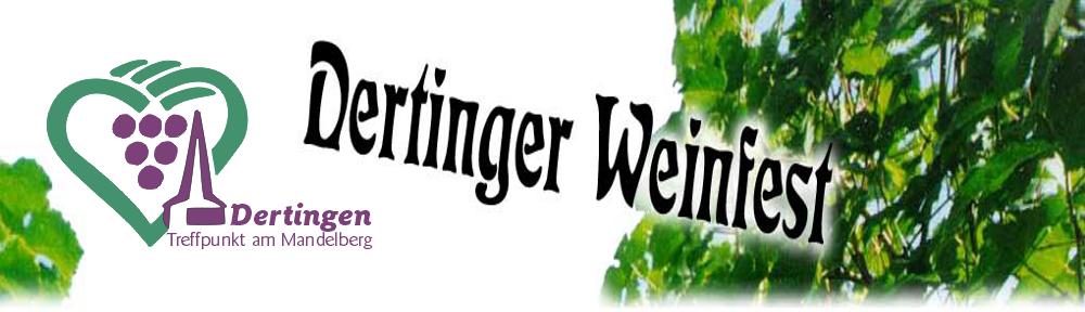 Weinfest Dertingen Header